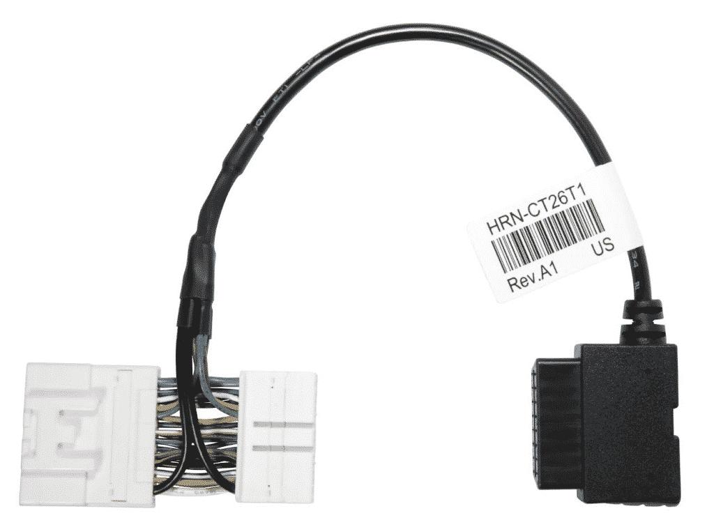 Bild: Geotab HRN-CT26T1 Kabelbaum Adapter zur Unterstützung der erweiterten Motordatenerfassung Tesla Model Y