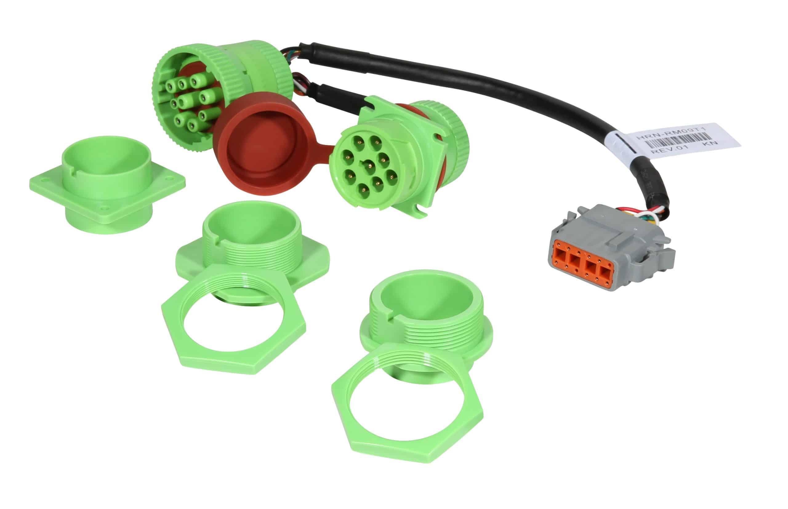 Bild: Geotab HRN-GR09K1 Kabelbaum Adapter robuster T-Kabelbaumsatz (IP67) für GO 9 RUGGED