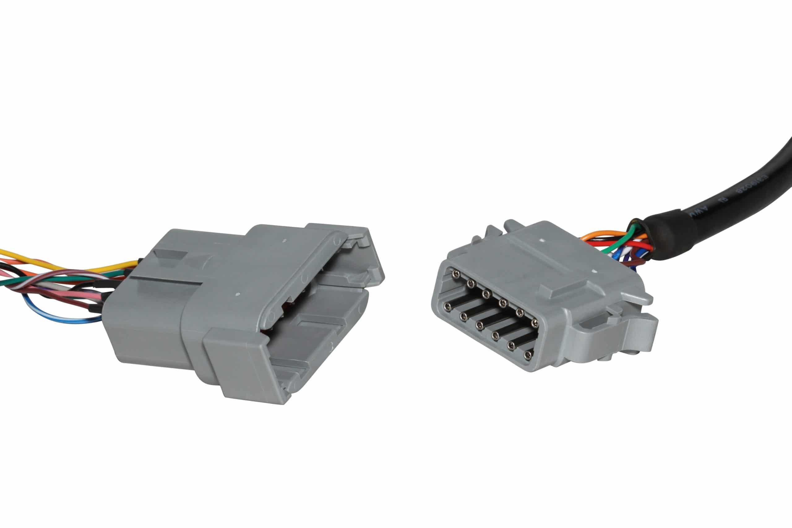 Bild: Geotab HRN-RS12S2 Kabelbaum Adapter für GO 9 RUGGED - Stecker