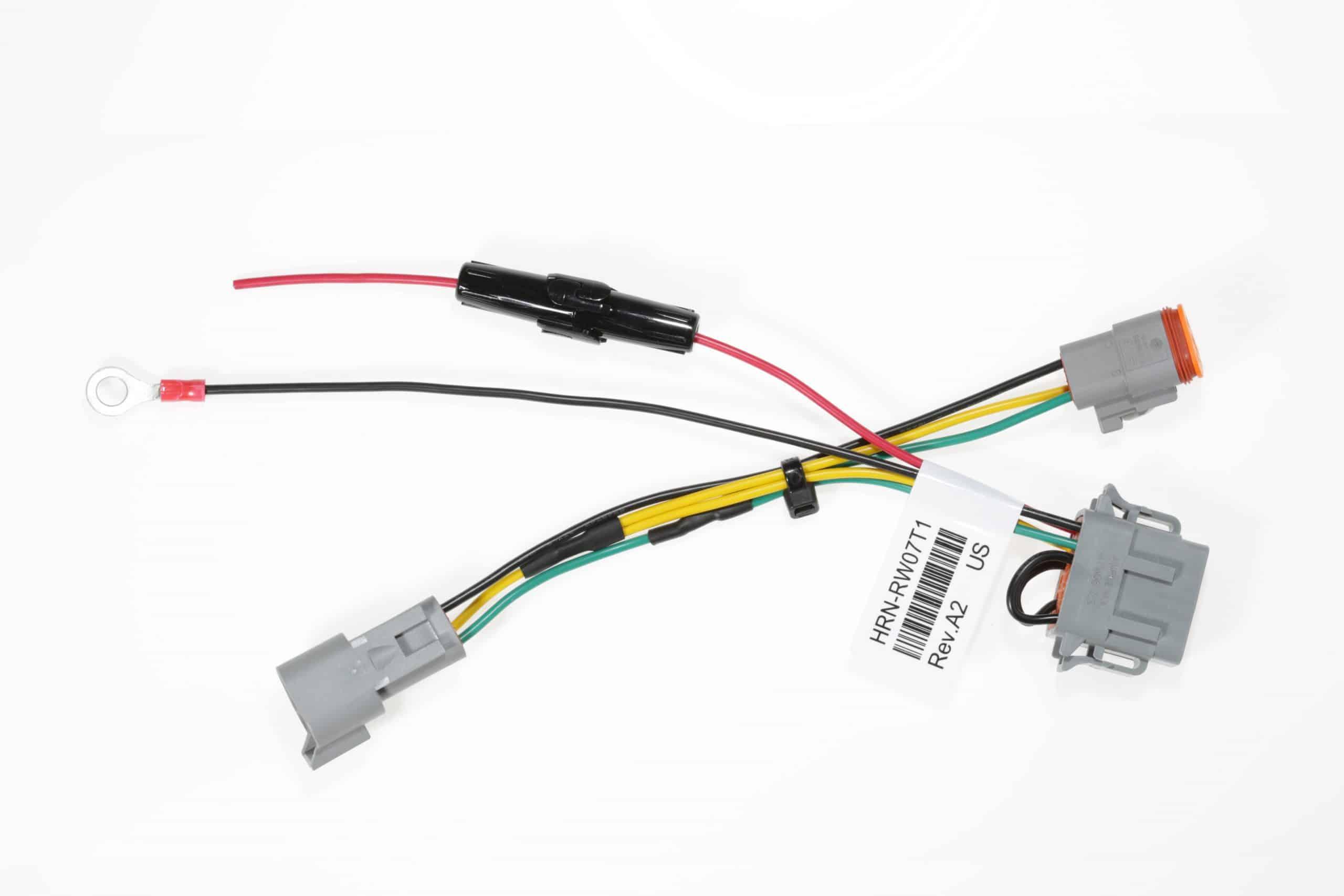 Bild: Geotab HRN-RW07T1 Kabelbaum Adapter Dreipolig für Fahrzeuge ohne Diagnoseanschlüsse für GO RUGGED