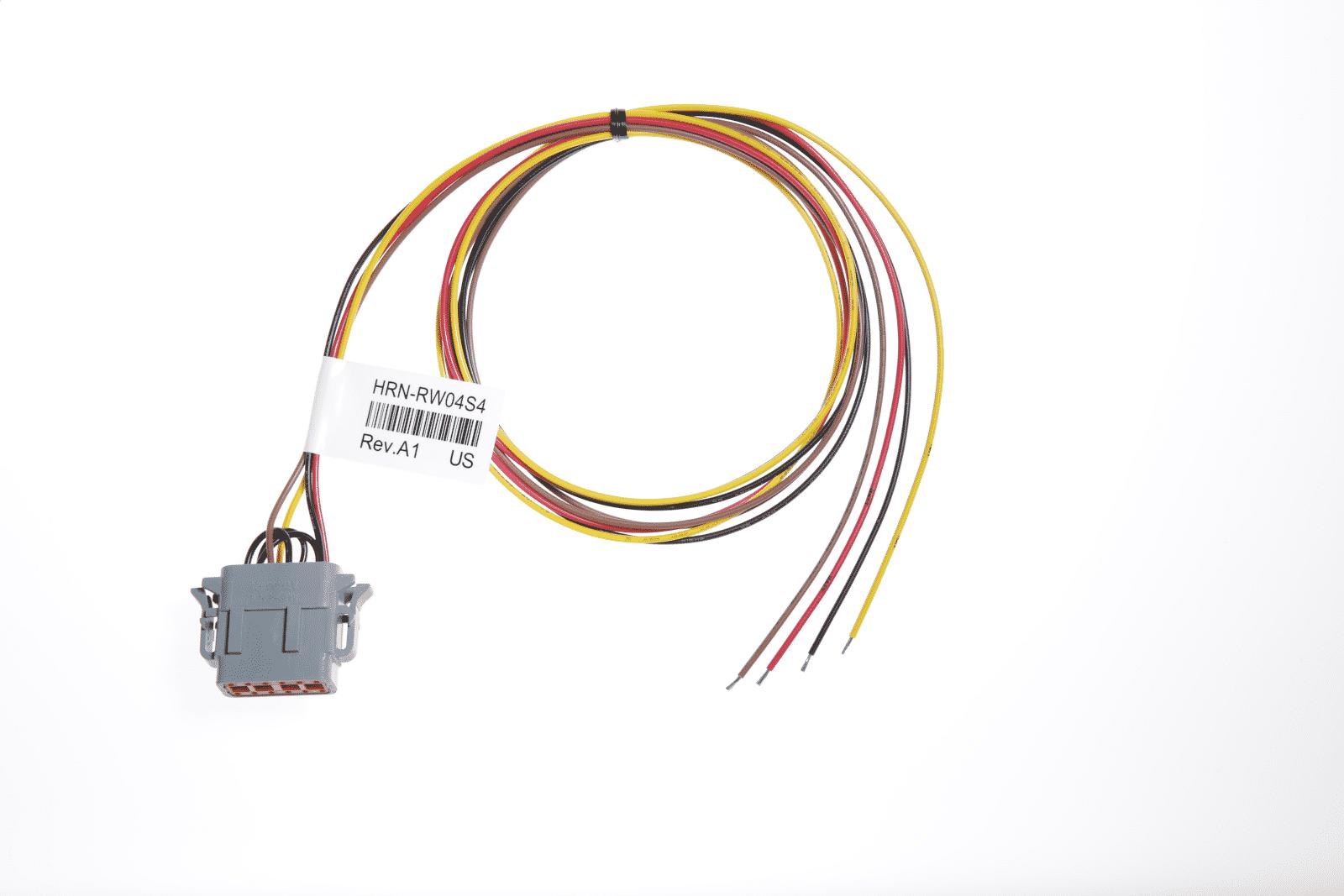Bild: Geotab HRN-RW04S4 Kabelbaum differential-Kabelbaum für Trennung des Minuspols der Batterie