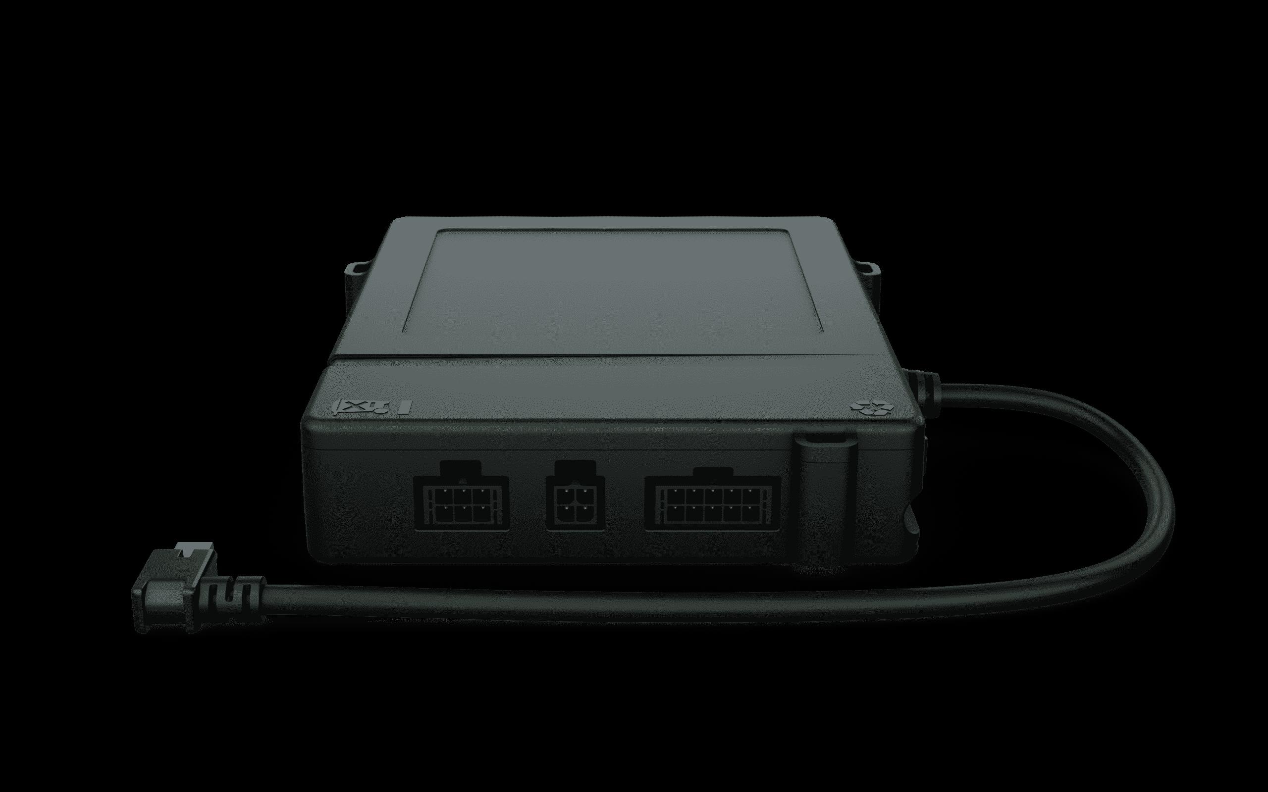 Geotab IOX-KEYLESS Add-On für GO 9 Geräte zur Unterstützung Keyless-Funktionalität, mit integriertem Schlüsselanhänger