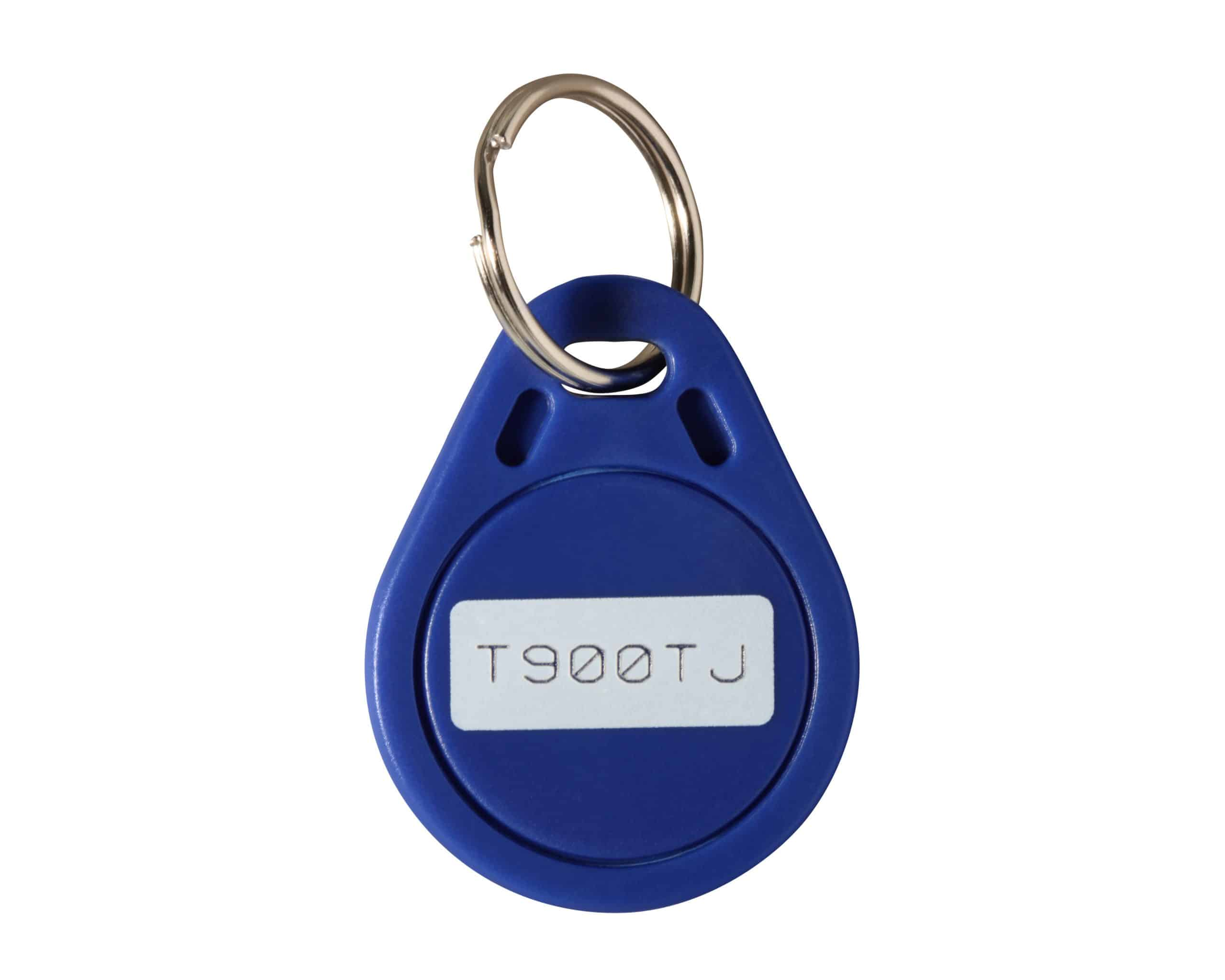 Geotab Fahrer Tag NFC-Schlüsselanhänger zur Fahreridentifikation blau