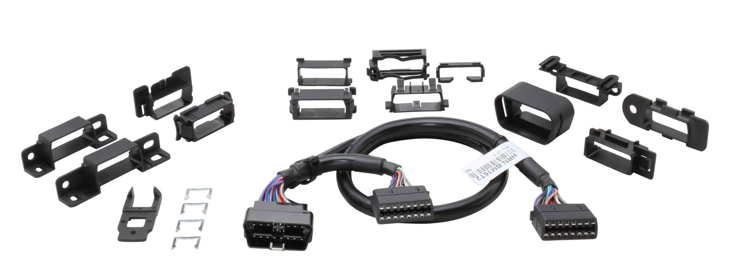 Geotab HRN-GS16K2 Installationszubehör OBD2 Y-Kabelbaumadapter für verdeckten GPS Stecker Einbau